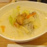 松屋冬野菜ときのこの豆乳だしスープごはん賞味サムネイル