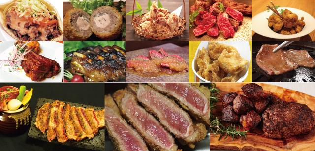 肉フェス神宮外苑2016春肉料理たち