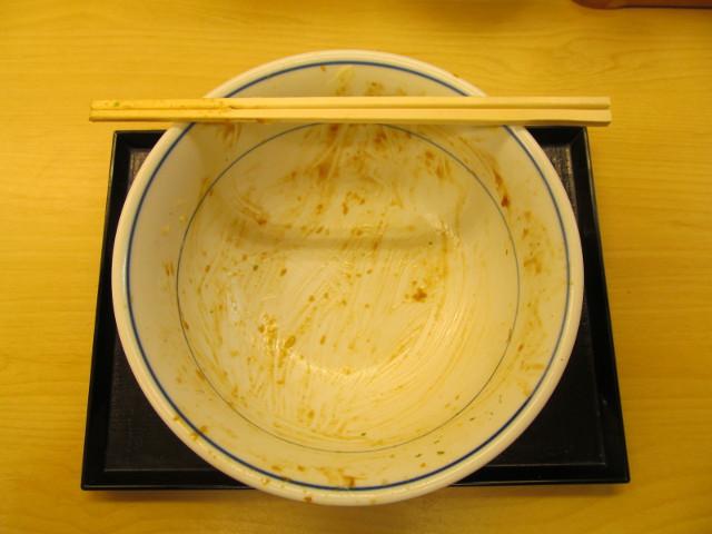 かつやキャベ玉チキンカツ丼を完食