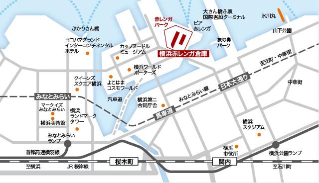 第3回宇都宮餃子祭りinYOKOHAMA地図