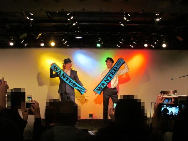 WANTEDJapantour2016東京公演初日写真タイム2