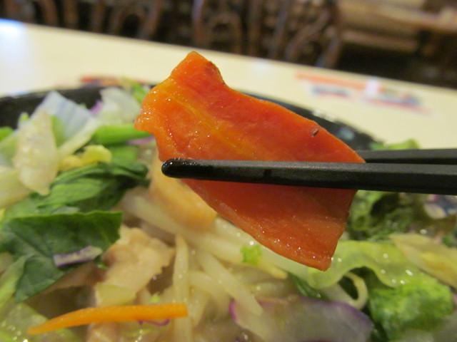 ガスト1日分の野菜のベジ塩タンメンのにんじん
