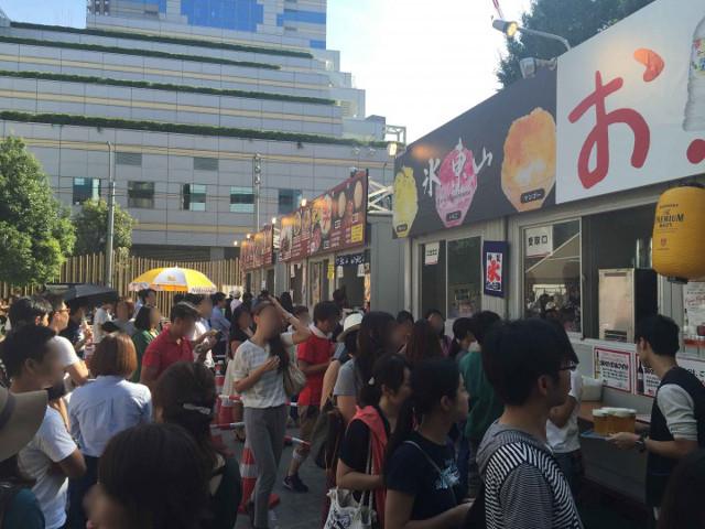 激辛グルメ祭り2015の人気店たち1