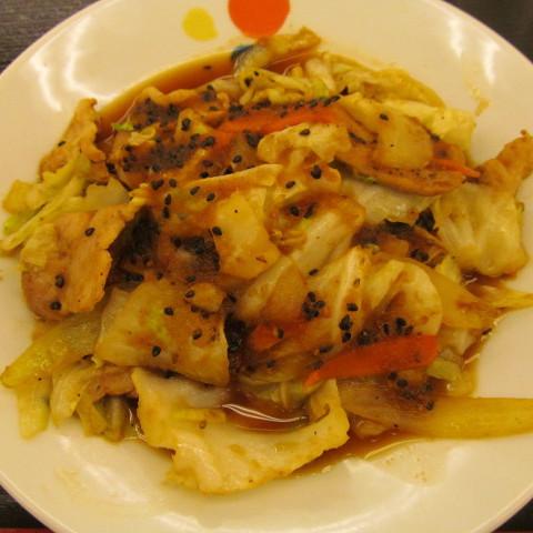 松屋スタミナ肉野菜炒めライス大盛賞味サムネイル
