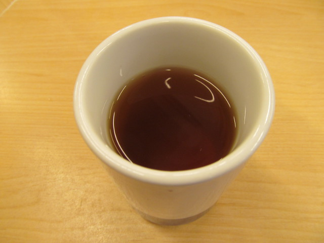 かつやのお茶20160812