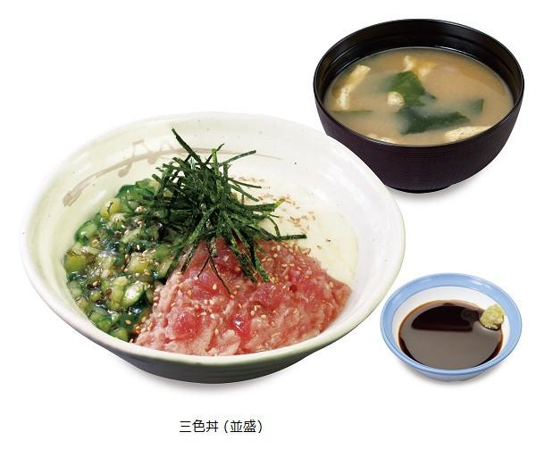 松屋三色丼商品画像20160804