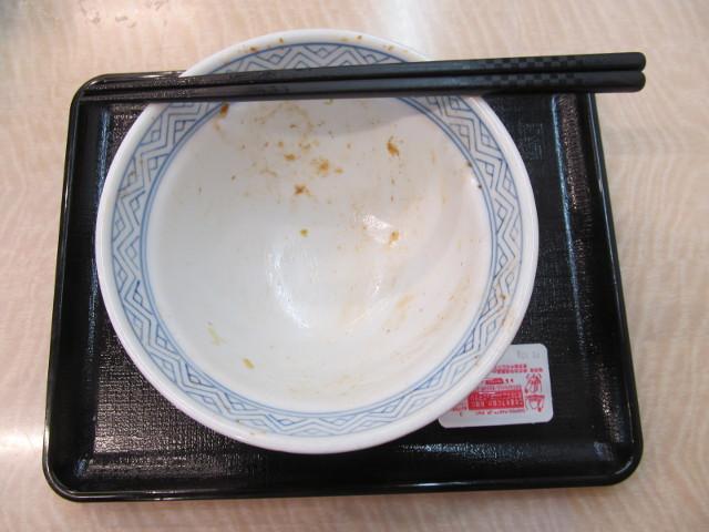 吉野家豚生姜焼丼大盛を完食