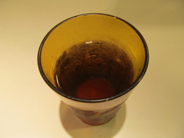すき家の冷たいお茶20160822