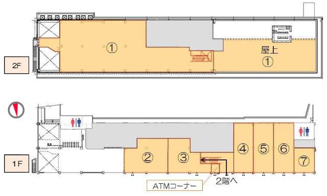 ビエラ大津フロアマップ640