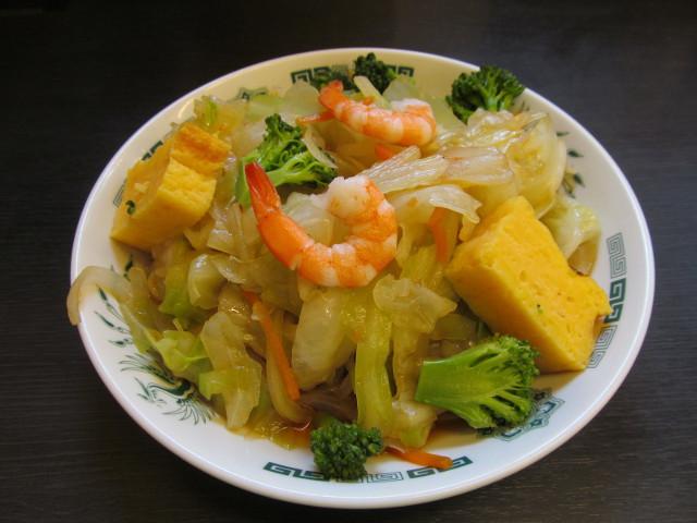 日高屋ヘルシーオリーブ麺別角度