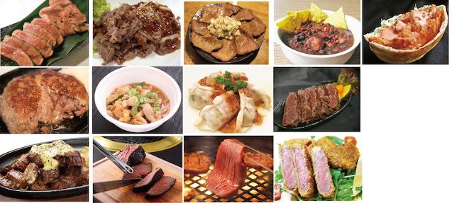 肉フェスYONAGO2016肉料理たちの写真