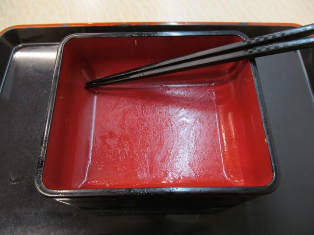 吉野家松茸牛丼を完食