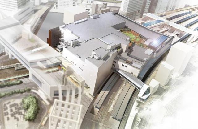 千葉駅新駅舎俯瞰図