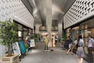 中目黒高架下の山手通り沿い施設イメージ