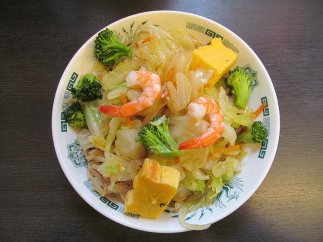 日高屋ヘルシーオリーブ麺