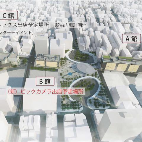 調布駅周辺開発計画サムネイル