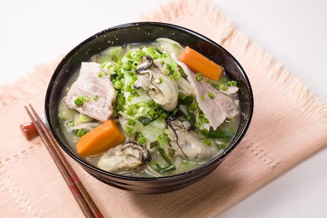 ガスト牡蠣と1日分の野菜のベジ塩タンメン画像