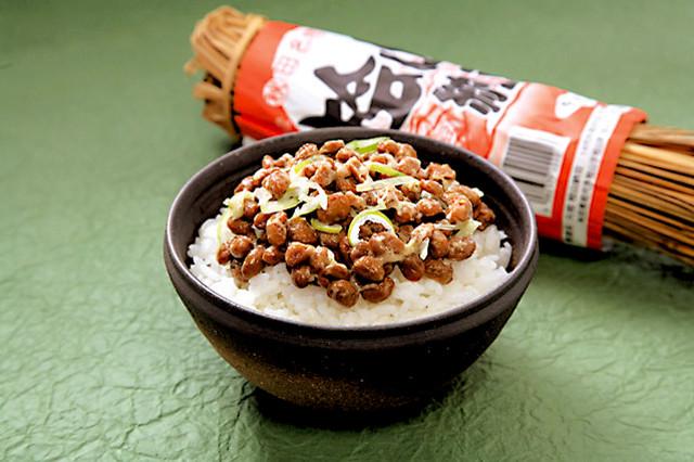 第2回納豆フェスタの納豆