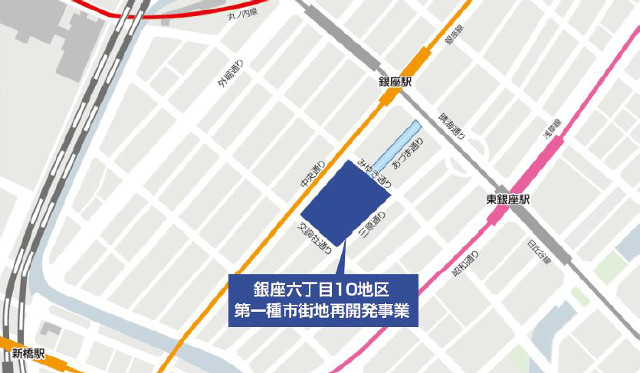 GINZASIX地図20161026