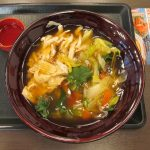 なか卯野菜とゆばのあんかけうどん賞味サムネイル
