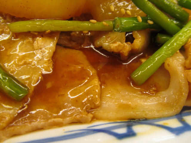 松屋豚バラ大根定食の特製ダレ