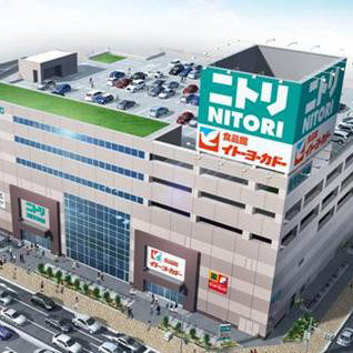 ニトリ環七梅島店オープンサムネイル