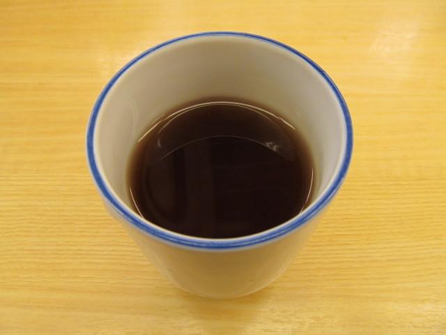 松屋のあたたかいお茶20161220