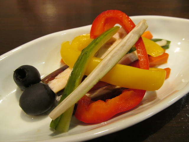 たまりや彩り野菜の酢漬け寄り20161213