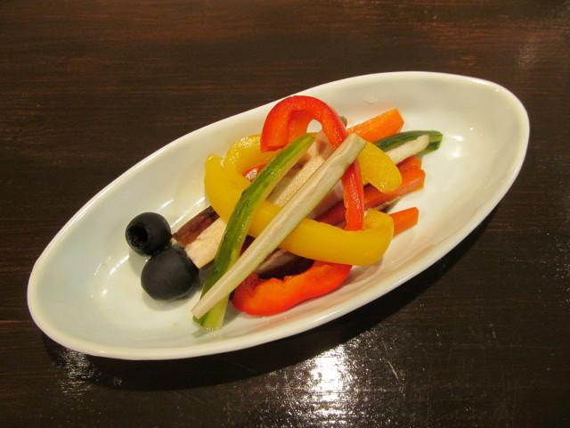 たまりや彩り野菜の酢漬け20161213