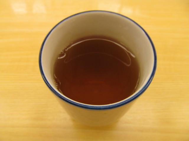 松屋のあたたかいお茶20161206