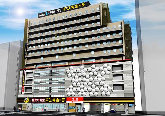 ドンキホーテあべの天王寺駅前店仮称外観イメージ