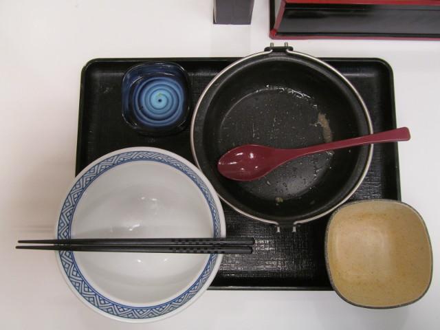 吉野家北海道豚味噌鍋膳を完食完飲