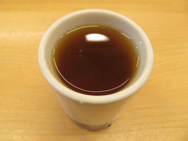 かつやの温かいお茶20170113