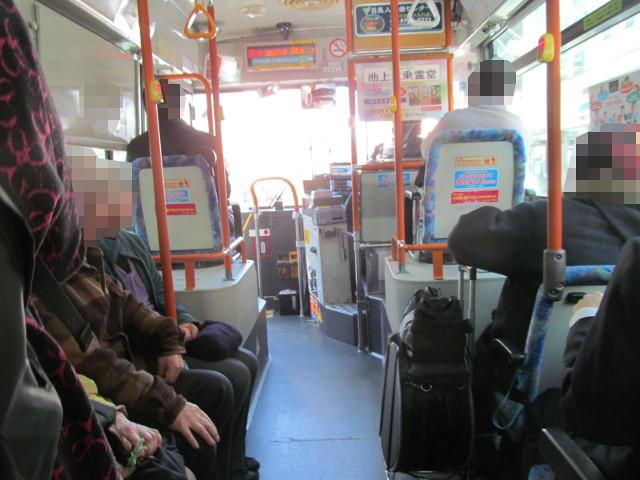 等13等々力操車所発の一番バスは満席20170127
