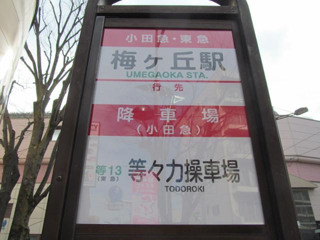 等13梅ヶ丘駅バス停ウラ上半分寄り20170127