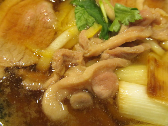 丸亀製麺鴨ねぎうどんの鴨もも肉