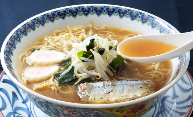 絶品秋刀魚ラーメン20170123