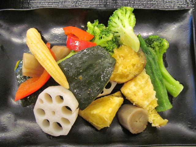 吉野家温野菜定食の温野菜