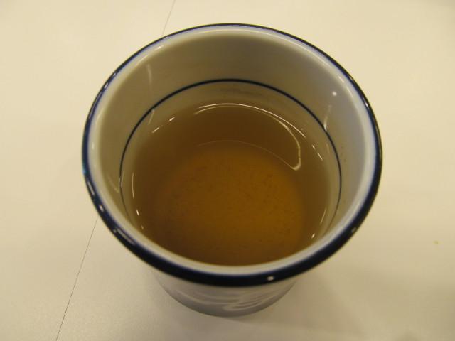 吉野家の温かいお茶20170112