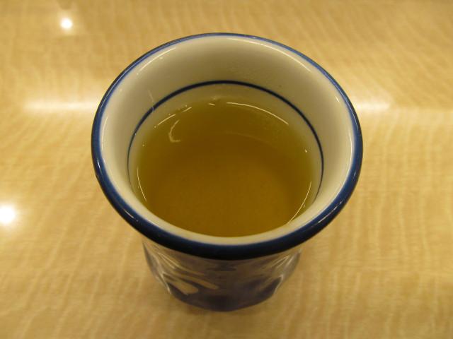 吉野家の温かいお茶20170209