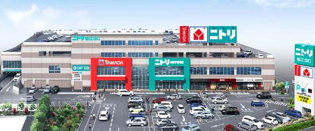 ニトリ狛江ショッピングセンター外観イメージ20170207