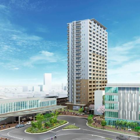 JR春日井駅南東地区22階建て複合施設建設を計画サムネイル