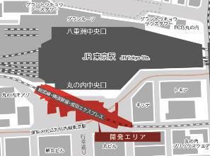東京丸の内地下エリア20170209