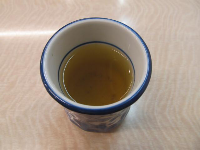 吉野家の温かいお茶20170224