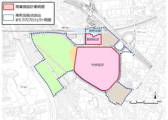 南町田商業施設計画対象範囲20170218