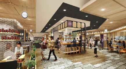フェザンおでんせ館1階レストランゾーンイメージ20170227