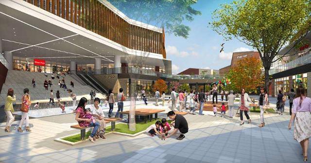 南町田商業施設計画広場イメージ20170218