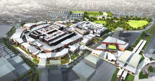 南町田商業施設計画俯瞰イメージ20170218