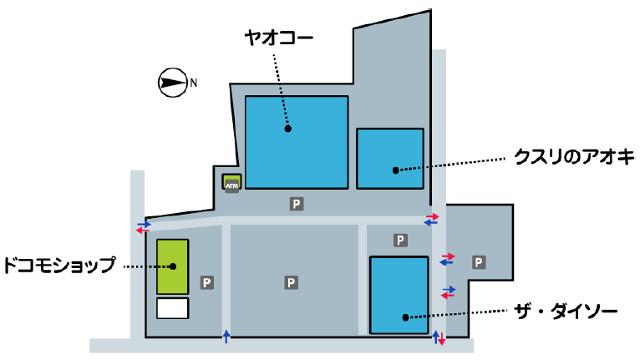 フレスポ藤岡敷地内マップ2_20170325