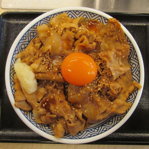吉野家豚スタミナ丼大盛にんにく増し10グラム賞味サムネイル